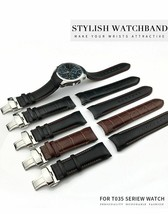 Watch Strap Band Genuine Cow Leather Watchband Belt For Tissot T035 22/23/24mm  - $18.80+