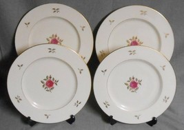 Set (4) Lenox RHODORA PATTERN Dinner Plates MADE IN USA - $71.27