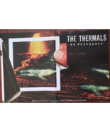 """The Thermals """"We Disappear"""" Soft Promo Poster 11 x 17, new - $9.95"""