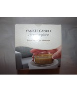 Yankee Candle Scenterpiece Ceramic Oak & Maple Leaves Electric Meltcup W... - $24.18