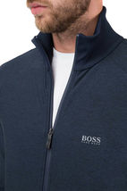Hugo Boss Men's Slim Fit Zip Up Sweatshirt Track Jacket Sicon 50392858 Navy image 3