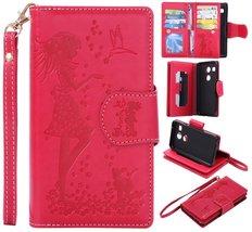 Nexus 5X Wallet Case,XYX [9 Card Slot Series] Wallet Folio PU Leather Ca... - $9.89