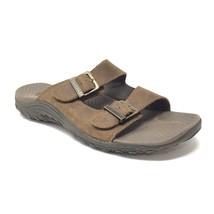 Skechers Wmns Size 11 Reggae Jammin Slides Sandals Brown Desert Crazyhor... - $17.79