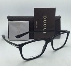 Neuf Gucci Lunettes Gg 1105 263 53-18 Noir & Noir Mat Cadres W / Démo Lentilles