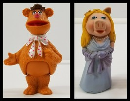 N) Vintage 1978 Fisher Price Muppet Show Players Finger Puppets Fozzie Piggy  - $9.89