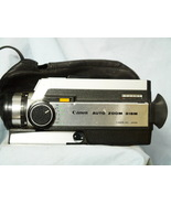 Canon Auto Zoom 318M Super 8 8MM Camera Cased - TESTED - Nice-  - $80.00