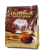 OLD TOWN White Coffee 3 in 1  Classic Instant Premix White Coffee x 8 Pa... - $120.90