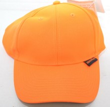 Realtree Orange Hunting Hat Cap Paramount Outdoors Hook & Loop Back NEW - $13.30