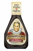 Newman's Own Light Balsamic Vinaigrette Salad Dressing, 16oz, Case of 6 ... - $38.99