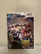 Super Smash Bros. Brawl (Wii, 2008) NO MANUAL Case And Disc Only - $24.74