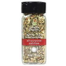 Simply Organic Spice Right Everyday Blends All-Purpose Salt-Free, Certif... - €5,53 EUR