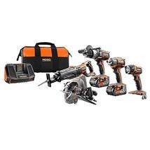 Ridgid Tool Company R9652 18V Tool Combo Kit 5 Piece - $786.06