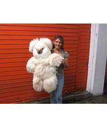 Teddy bear, plush toy of pure Alpaca fur, 31.5 ... - $188.00