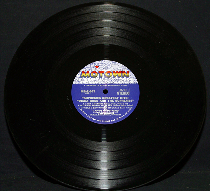 "Diana Ross & Supremes ""Greatest Hits""   Double LP"