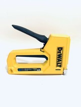 DEWALT Staple Gun Heavy Duty Compact Hand Stapler Tool Home DIY Projects Yellow - $16.58
