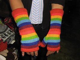 Fingerless Mittens Gloves Hand warmers Alpacawool  - $25.00