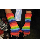 Fingerless Mittens Gloves Hand warmers Alpacawool  - $25.00