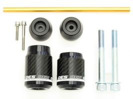 OES Carbon Frame Sliders and Fork Sliders 2019 Honda CB1000R No Cut Made In USA image 4