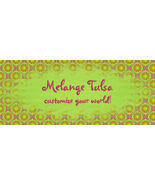 Bonanza Booth Banner- Orange Green and Purple D... - $2.39