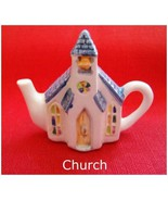 Mini-Teapot Church    from Roseville Series Can... - $11.81