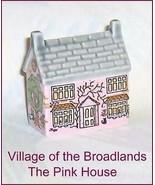 Village of the Broadlands Pink House Wade Porce... - $117.04