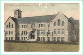 Postcard  Kingston Arts Building Queen's University    Kingston Ontario - $11.75