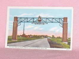 Postcard Welcome Arch on Lincoln Highway  North Platte Nebraska  USA - $8.95