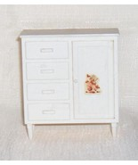 Large   White Chest of Drawers with Clothes Clo... - $10.45