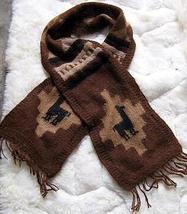 Folklorical peruvian scarf,pure Alpaca wool,handknitted - $512,00 MXN