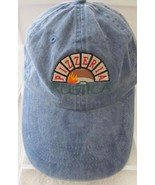 Pizzeria Rustica Port & Company Distressed Blue Denim Adj Baseball Cap Hat! - $12.37