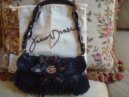 JUNIOR DRAKE LEATHER HANDBAG - $49.50