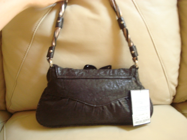 JUNIOR DRAKE LEATHER HANDBAG