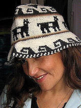 Hat made of Alpaca fabric from Peru - $23.00