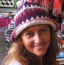 Wool hat from Peru made of alpacawool - $22.00