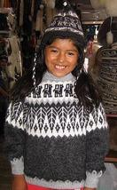 Grey sweater, turtleneck, Alpacawool,all Kids sizes in stock - $78.00