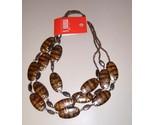Wood bead necklace thumb155 crop
