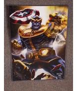 Marvel Avengers Thanos Glossy Print 11 x 17 In Hard Plastic Sleeve - $24.99