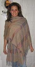 Wrap, shawl made of Babyalpaca wool & Silk  - $133.00