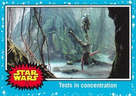 2017 Star Wars Journey To The Last Jedi #22 Tests In Concentration - €0,86 EUR