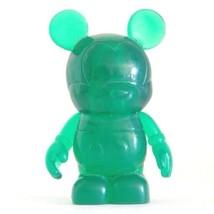 """Disney Parks Clear Series Dark Green Vinylmation 3"""" Figure - $14.80"""