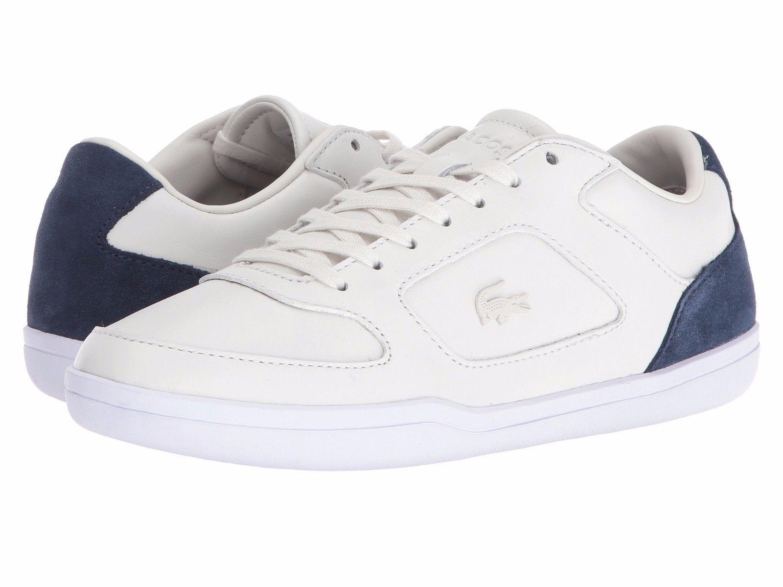 Size 12 LACOSTE Leather Suede Mens Sneaker Shoe! Reg$150 Sale$99 LastPair! - $99.00