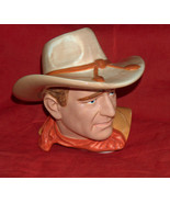 VANDOR John Wayne Limited Edition OEM Replacement Cookie Jar Top Head Ha... - $69.28