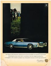 Vintage 1969 Magazine Ad Cadillac An Unequaled Measure of Driving Satisfaction - $5.93