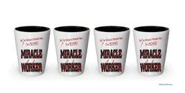 I'm Mechanic shot glass- Not a Miracle Worker -Mechanic Gifts (4) - €20,79 EUR