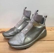 PUMA Fierce Metallic Silver Women's Cross Trainer Sneakers Shoes US Size 8 - $23.15