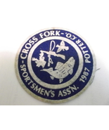 Cross Forks, Potter county, Sportsmen's Ass'n Felt Patch 1987 - $4.00