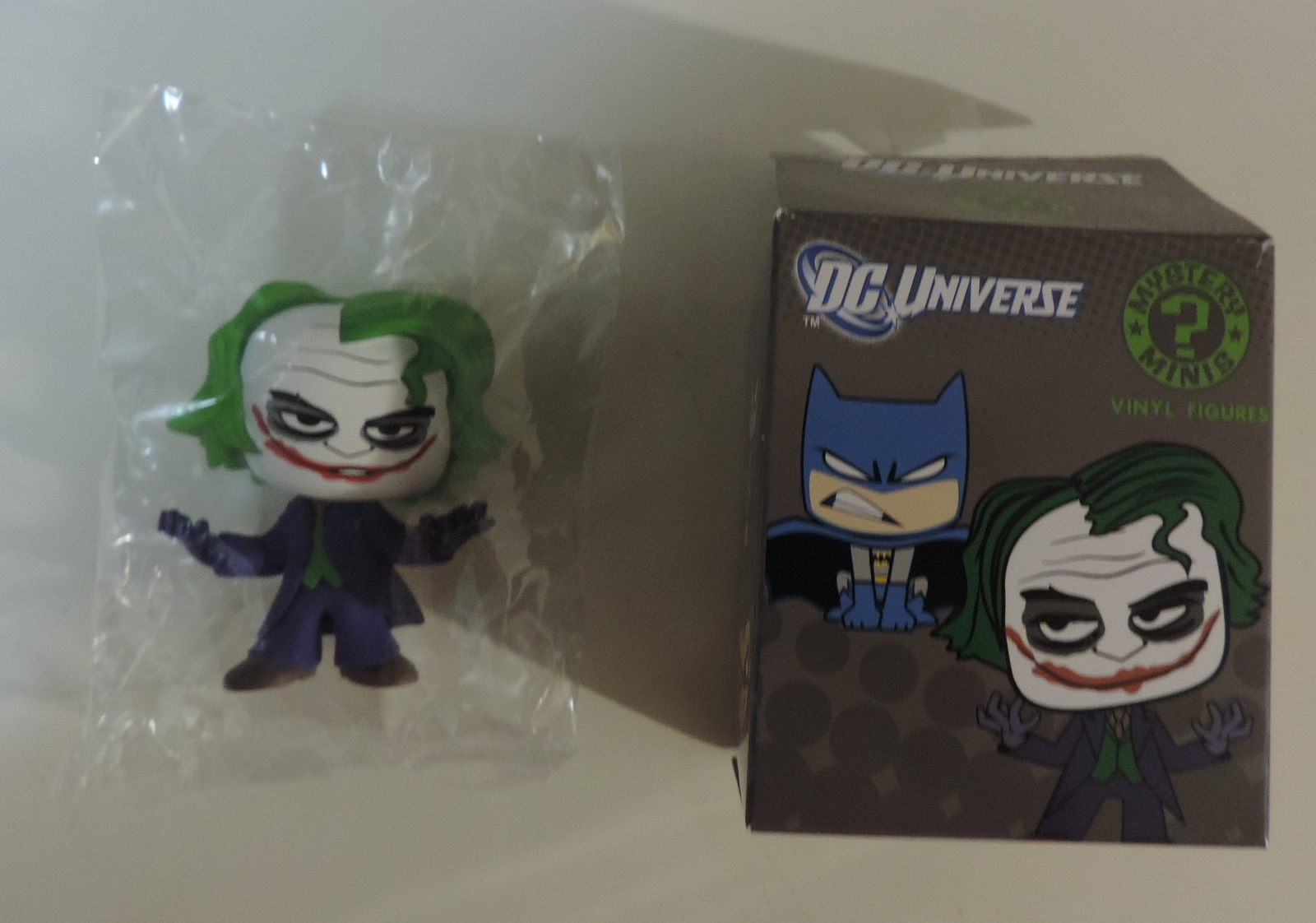Primary image for DC Universe Comics Funko Mystery Minis The Dark Knight Rises Joker vinyl figure