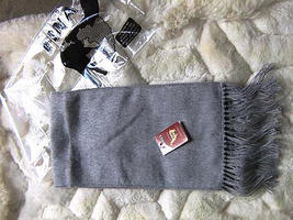 Grey Alpacawool lighter scarf,neck scarf, unisex - $19.00