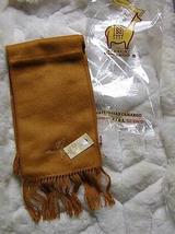 Ocher colored alpaca wool lighter scarf,neck scarf - $19.00