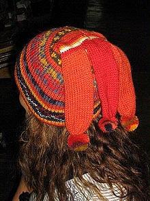 Red woolen hat, made of Alpacawool,cap